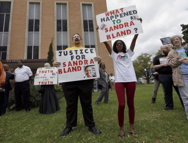 Former Texas Cop Pleads Not Guilty In Court Appearance Regarding Sandra Bland's Death