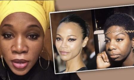 India Arie Is Not Happy About Zoe Saldana Playing Nina Simone