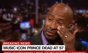 Van Jones Brought To Tears When Talking About Prince & Why He Was really Doing Concerts [VIDEO