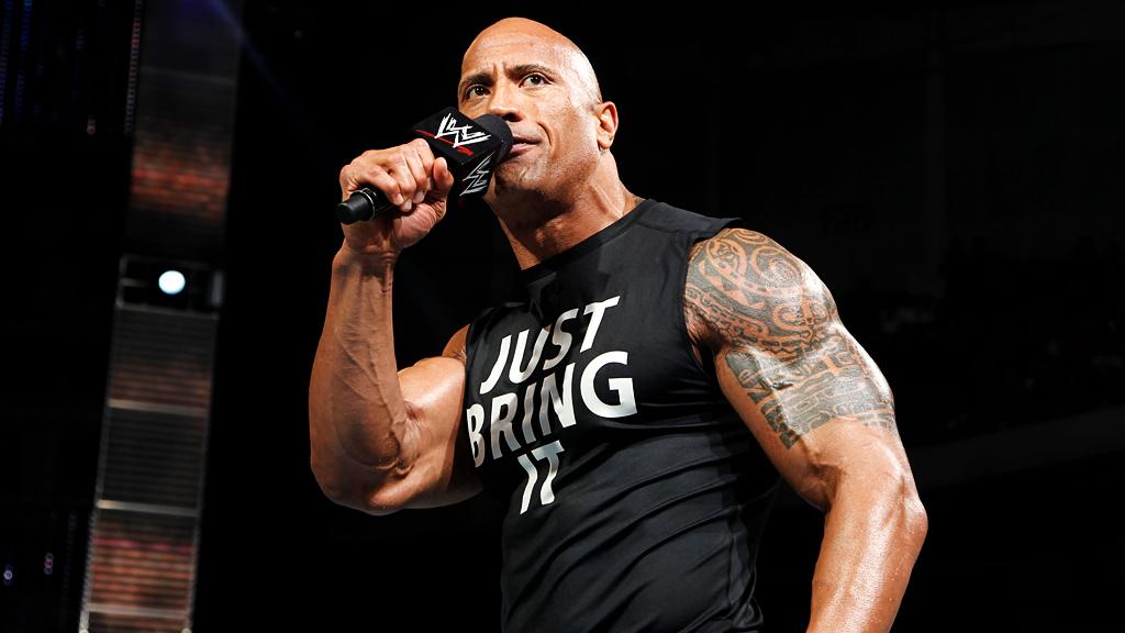 """Dewayne """"The Rock"""" Johnson Breaks WWE Attendance Record At Wreslte Mania 32"""