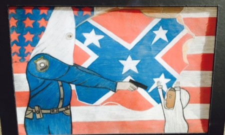 A 10th Grader's Artwork Has Set Off An Outrageous Controversy