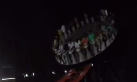 Giant Carnival Wheel In India Crashes In The Middle Of A Ride; 1 Dead [Video]