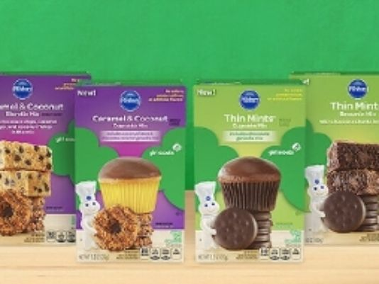 girl scout cookie mix