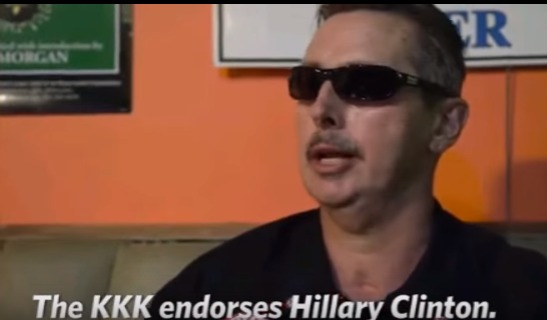 KKK Member Says Hilary Clinton Is Their Choice For President [Watch Video]