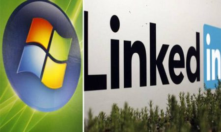 linkedin and mircosoft