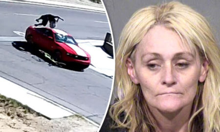 Angry Woman Runs Her Boyfriend Over With Mustang For Not Disclosing He Had HIV