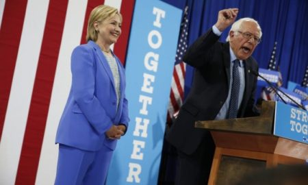 Presidential Hopeful Bernie Sanders Endorses Hillary Clinton Creating Unity