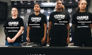 "Four Cops Walk Off The Job At WNBA Game Over ""Black Lives Matter"" Shirts"