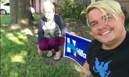 Texas Couple's Dog Killed Because They Had A Hillary Clinton Sign Posted In Their Yard