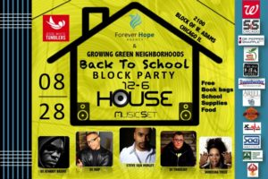 Forever Hope Agency Back to school House Music Set