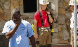 Black firefighter