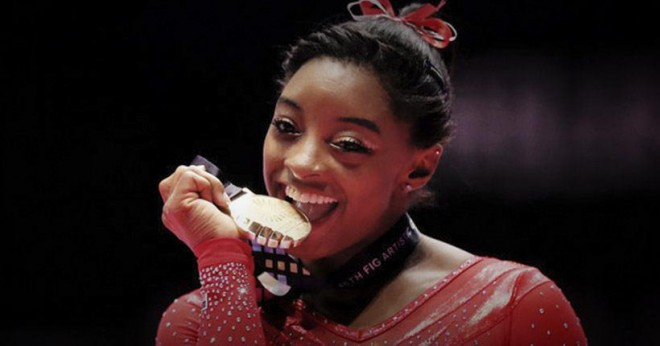 Simone Biles Has Won More World Championship Medals Than Any American Woman