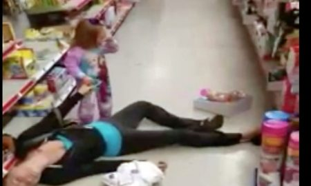 Video Shows Mother Overdose On Heroine In Family Dollar Store & 2-Year Old Trying To Wake Her