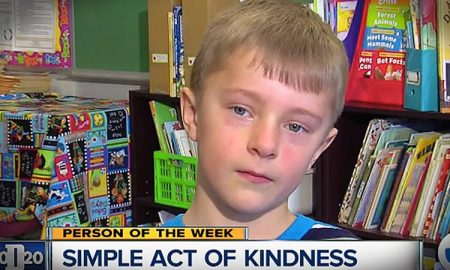 8-Year Old Raises Money & Pays Off Lunch Debt For 295 Students Who Owed Money For School Lunch