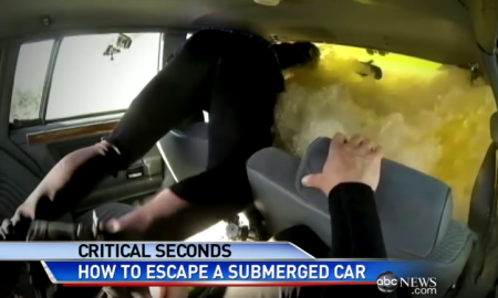 FYI: What To Do If You Are In A Sinking Car; Timing Is Crucial