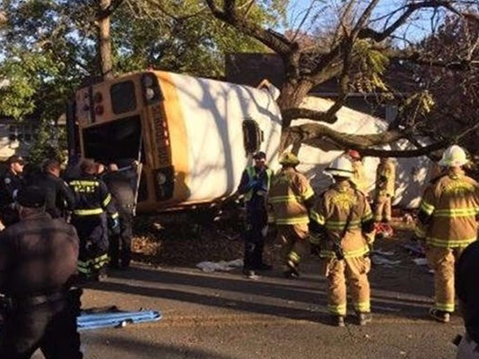 Multiple Children Dead During Deadly Bus Crash In Chattanooga