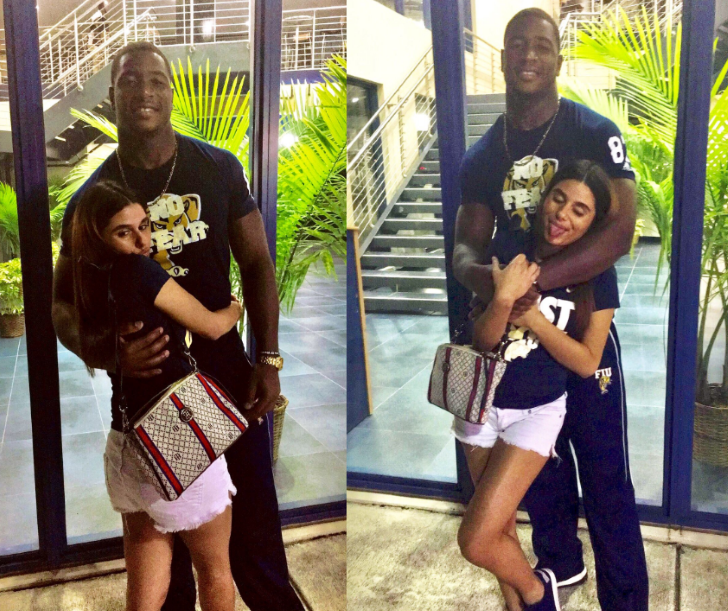 FIU Tight End Jonnu Smith Is Doused With Boiling Water By Crazed Girlfriend Ending His Season