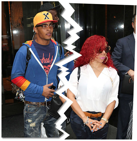 Tiny Files For Divorce From Rapper TI after Countless Infidelities & An Alleged Secret Baby From A Threesome
