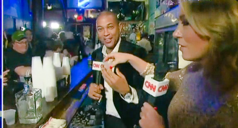 """CNN Pulls Don Lemon Off The Air After He Got Drunk And Says, """" Yea I'm Lit Who Cares  & Then Says, """" 2016 Was Awful"""""""