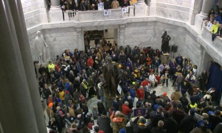 GOP Supermajority Passes Extreme Anti-Choice & Anti-Union Bills Then Protest Erupts In Kentucky
