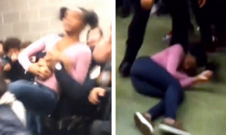 [Video] NC Police Officer Slams Teen Girl To The Ground As She Was Breaking Up A Fight & Teen Goes Completely Limp