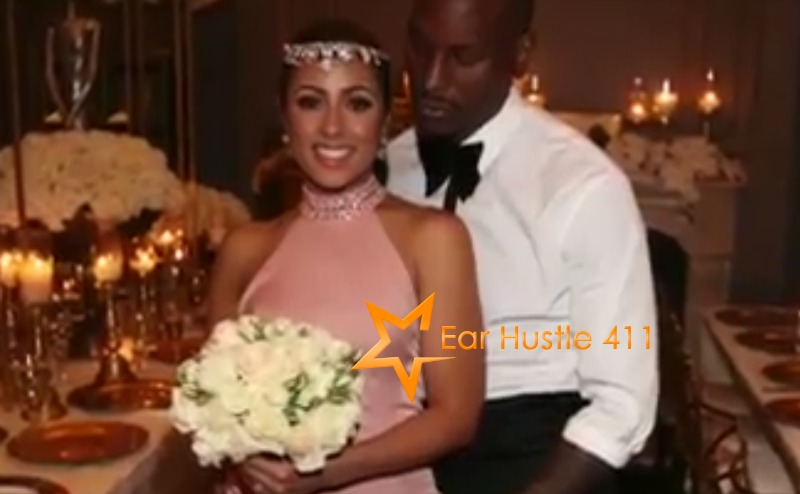 Congrats To R & B Singer & Actor Tyrese Gibson & His Lovley Wife  [VIDEO]