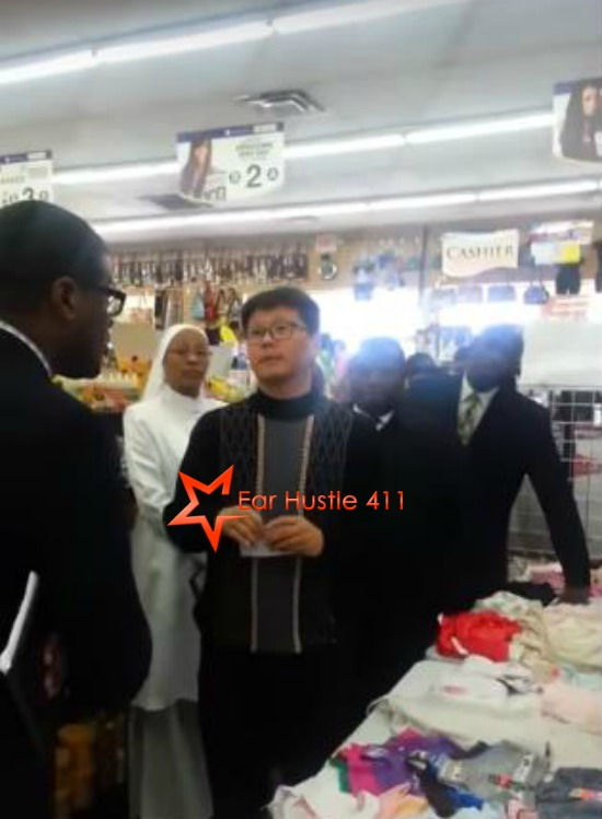 """Nation Of Islam Confronts Asian Store Owner That Beat & Kicked Black Woman Accusing Her Of Stealing """"Now You Have To Deal With Us"""""""