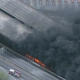Breaking News: A Large Section Of I-85 Highway In Atanta Collapses, No Injuries Have Been Reported Yet