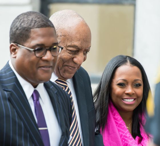Bill Cosby's TV Daughter Keshia Knight Pulliam Shows Up To Court With Him