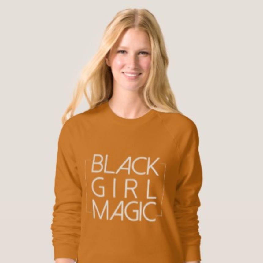 Say What? White Models Wearing Black Girl Magic T-Shirts Being Sold On A Website, Is This O.K?