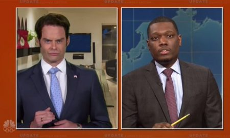 Check Out Bill Hader As Anthony Scaramucci On SNL He Clearly Had Him Down Pat