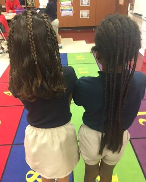 Mother Refused To Braid White Daughters Hair Like Her Best Friend Who Is Black Then Changed Her Mind, The Outcome Is Beautiful