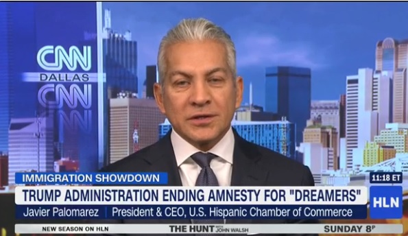 Trump Top Aid Javier Palomarez Resigns From Trumps National Diversity Counsel On Live TV Due To DACA Decision