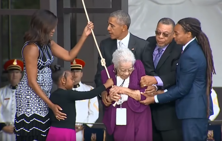 The Daughter Of A Former Slave WHo Helped Obama Open The African-American History Museum Dies At 100