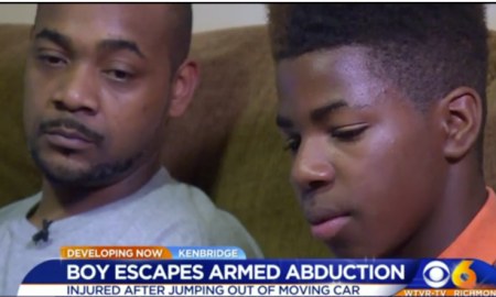 Man Abducts 12-Year Old At Gunpoint Tells Him He's Gay & Tries To Kiss Him, Boy Jumps Out Of Vehicle Moving 60 MPH To Saftey