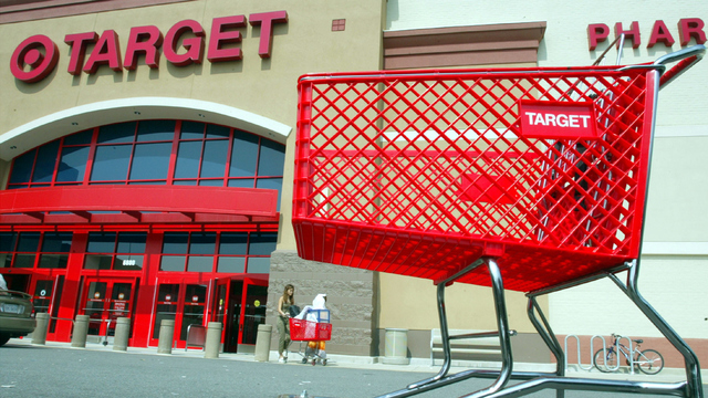Target store and cart