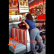 [Video] Man Gets Busted Cheating On His Wife With Alleged Mistress In Forest Park Portillos & His Wife Snaps.