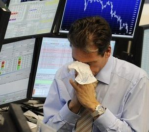 Dow Falls More Than 1000 Points In Aggressive Trading Session S&P 500 Also Goes Negative