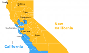New California Declares Its Independence From California To Become 51st State