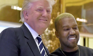 Kanye Allegedly Loses More Than 9 Million Twitter Followers After He Retweets Trumps Post