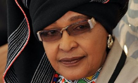 Winnie Mandela South African Apartheid Campaigner & Former First Lady Of Nelson Mandela Has Died