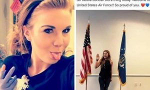 Racist Who Lost Her Waitress Job Because Of Her Hunting N!**er Video Also kicked Out The Air Force