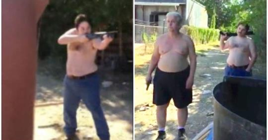 Father and Son Kill Neighbor In Front Of His Wife Over Garbage Dispute