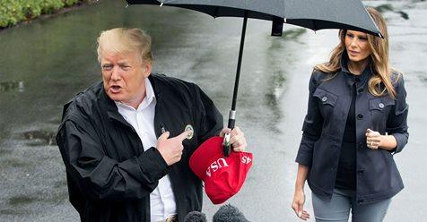 trump rain