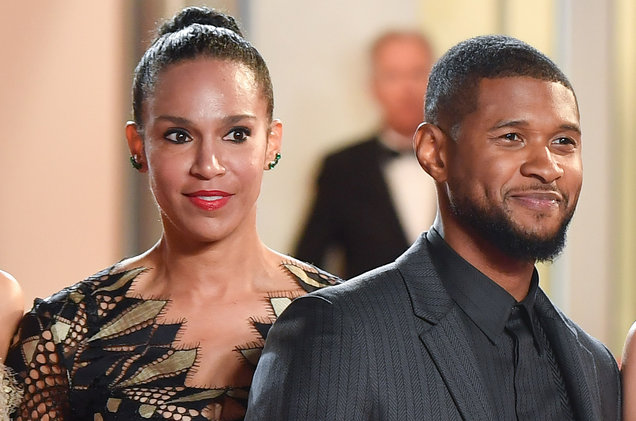 After Months Of Separation, R&B Sensation Usher Files For Divorce From Second Wife Grace Miguel